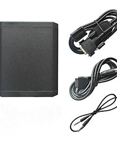 Auton Digital Music CD-boksi iPod iPhone 3.5mm Aux In ja Bluetooth Valinnainen Mp3 sovitin Peugeot Citroen RD4 RT3 RT4 Radio