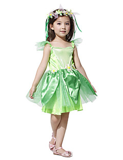 Forrest Fairy The Wizard of Oz Disfraces de Halloween Verde poliéster Kids '