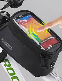 ROSWHEEL® Bike Bag 1.5LCell Phone Bag / Vesker til sykkelramme Vanntett / Touch Screen Sykkel Bag Polyester SykkelveskeIphone 6 Plus/6S