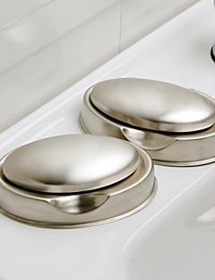 Orange ® sæbe retter Moderne Desodoriseringsfunktionen sæbe rustfrit stål Set 2piece