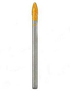 5mm Tungsten Steel Alloy Triangle Drill Bit - Silver + Golden