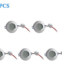 5 pcs 4.5 W 10 SMD 5730 310 LM Warm White Recessed Retrofit Ceiling Lights/Recessed Lights AC 220-240 V