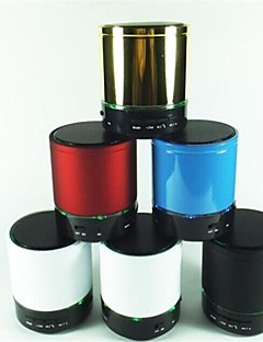 S08 Dual Lights Mini Bluetooth Speaker with TF Card Supported(Assorted Color)