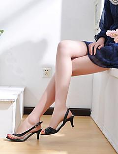 διαφανή λουστρίνι χαμηλά σανδάλια φτέρνα κόμμα / βραδυνά παπούτσια (περισσότερα χρώματα)