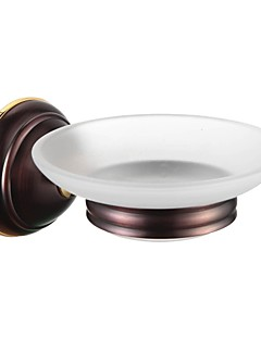 Bathroom Accessories Solid Brass Soap Dish Holder  Oil Rubbed Bronze