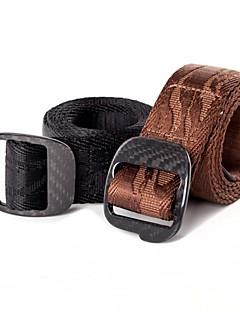 Rockway® Outdoors Men Jacquard Nylon Black Lightness Strong Belt