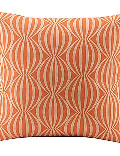 Orange Wassermelone verknüpft Baumwolle / Leinen Dekorative Kissenbezug