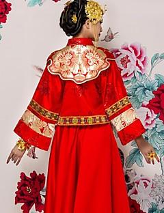 Chinese traditionele bruiloft kostuum