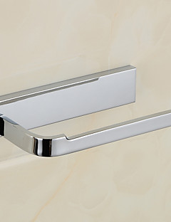 Chorme Finish Materiale Messing Single Toilet Paper Holder