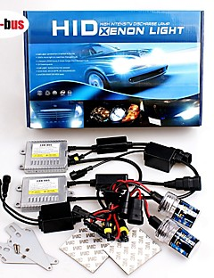 12V 35W H7 6000K Premium Ac Error-Free Canbus Compatible Ballasts Hid Xenon Kit For Headlights