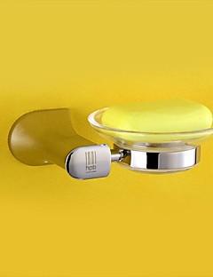HPB ™ moderne kromfinish messing indehaveren og glasfad vægmonterede sæbe retter