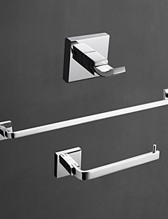 YALI.M®,Bathroom Accessory Set Chrome Wall Mounted Brass Contemporary