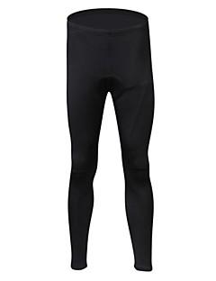 Realtoo מכנסי רכיבה לנשים לגברים יוניסקס אופניים מכנסיים נושם שמור על חום הגוף בטנת פליז ספנדקס פוליאסטר גיזות אחידרכיבה על