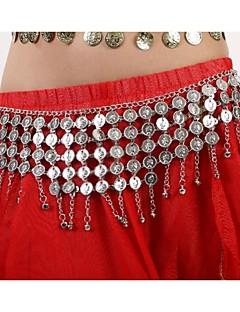 אביזרי ריקוד תכשיטים בגדי ריקוד נשים מתכת מטבעות / גדיל (ים) חג מולד / חג ליל כל הקדושים