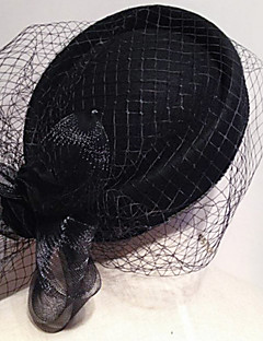 Women's Tulle/Polyester Headpiece - Wedding/Special Occasion Hats