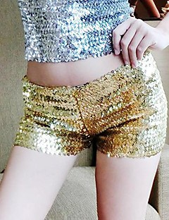 Women's Gold/Silver Shorts Pants , Sexy
