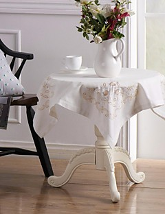 5 Linen / Cotton Blend Square Table Cloths / Napkin