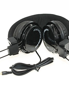 WZS - Ergonomic Hi-Fi Stereo Headphone with Mic Microphone Noise-Cancelling