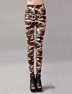 Women Print Legging , Acrylic/Viscose