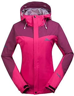Women's Soft shell  Jacket Warm/Thermal Fleece Hiking Jacket Rose Red