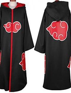 Naruto Akatsuki musta cosplay viitta kanssa korkki