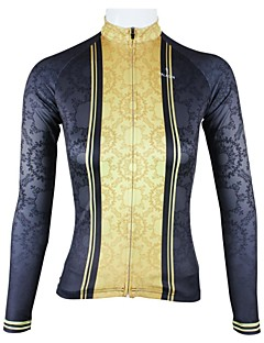 PALADIN® Cycling Jersey Women's Long Sleeve Bike Breathable / Quick Dry Jersey / Tops 100% Polyester PatchworkSpring / Summer /