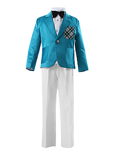 Polyester Ring Bearer Suit - 3 Pieces Includes  Jacket / Shirt / Pants / Bow Tie