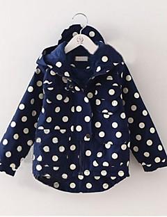 moda da menina durante toda a partida ponto onda doce casaco com capuz