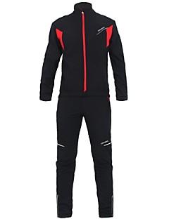 KOSHBIKE/KORAMAN® Cycling Jacket with Pants Men's Long Sleeve BikeWaterproof / Breathable / Thermal / Warm / Windproof / Anatomic Design