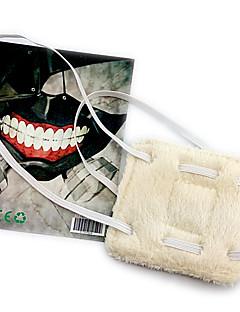 Maska Inspirovaný Tokyo Ghoul Cosplay Anime Cosplay Doplňky Maska Biały polar fleece Pánský