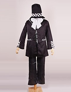 Alice in Wonderland Mad Hat Black Cotton Cosplay Costume