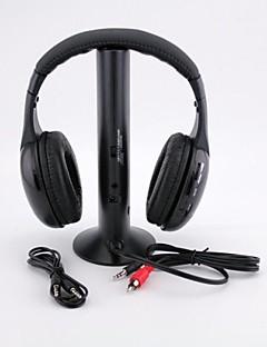 Многофункциональные беспроводные наушники Hi-Fi, для FM радио MP3/PC/TV
