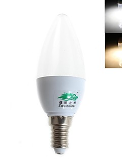 Zweihnder E14 3 W 8 SMD 2835 280 LM Warm White/Cool White C Decorative Candle Bulbs AC 85-265 V