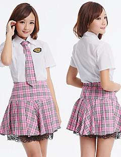 학교 소녀 분홍색 멜로디 폴리 에스터 의상 (3 개)