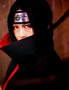 Black Cosplay Wig Inspired by Naruto Uchiha Itachi