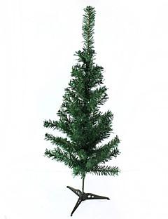 Plastikchristbaumschmuck - grün (Größe M)