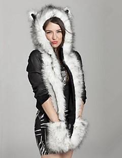 Umělá kožešina Vintage Na běžné nošení podzim Zima Ušanka