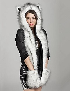 Women's Faux Fur Trapper Hat,Vintage Casual Fall Winter