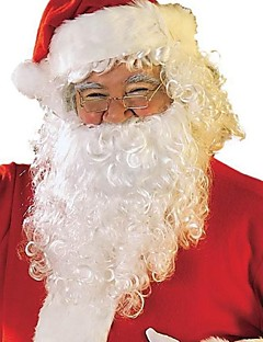 voksen santa skæg + paryk + hat cospaly tøj