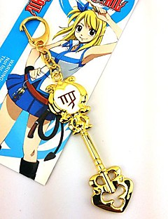 Jewelry Inspired by Fairy Tail Cosplay Anime Cosplay Accessories Necklace Golden Alloy Female