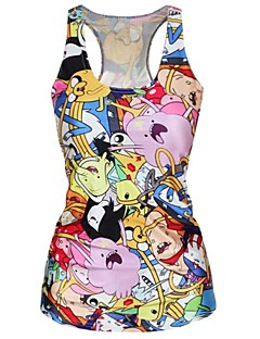 cartoon adventure tank top jurk nachtclub sexy uniform