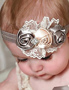 1pc European Children Elastic Rose Headband