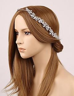 Women's Rhinestone Alloy Imitation Pearl Headpiece-Wedding Headbands