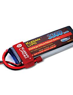 kudian rc batteri 35C 3300mAh t plug 5s