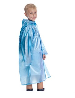Hiking Raincoat/Poncho Kid's Rain-Proof / Wearable / Shockproof / Reduces Chafing Spring / Summer / Fall/Autumn PVC M / LCamping / Hiking