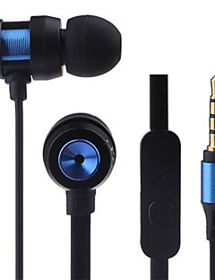 JTX-JL580 3.5mm Noise-Cancelling Mike in-ear Earphone for Iphone and Others