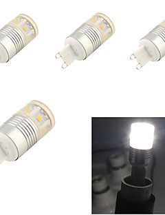 4 pcs youoklight G9 5 W 11 SMD 5050 330 LM Cool White Decorative Corn Bulbs AC 85-265 V