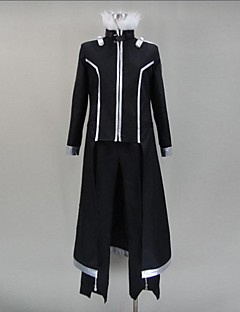 Inspired by Sword Art Online Kirito Anime Cosplay Costumes Cosplay Suits Patchwork Black Long Sleeve Cloak / Pants / Gloves