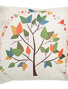 """createforlife® 18 branches des arts rétro chic """"de draps en coton d'oreiller décoratif carré"""