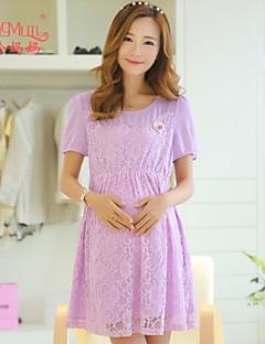 Maternity summer Korean fashion elegant dress dress pregnant women